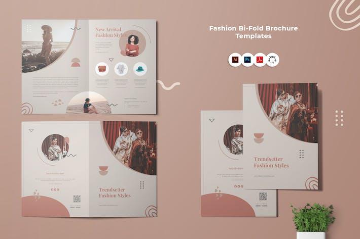 Thumbnail for Fashion Bi-Fold Brochure