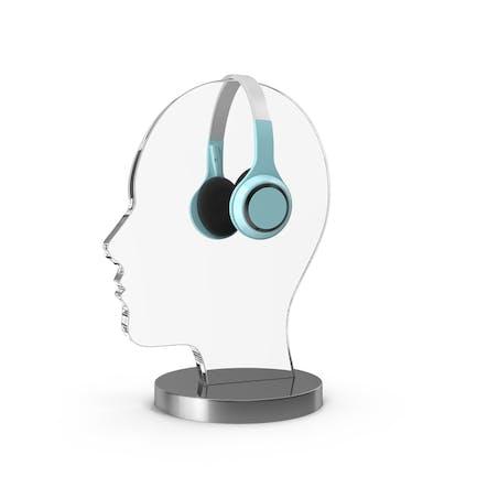 Kopfhörer-Display