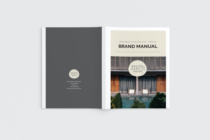 Thumbnail for Brand Manual Magazine