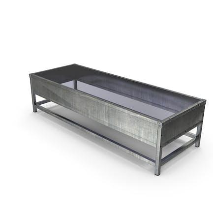 Mesa de centro de metal