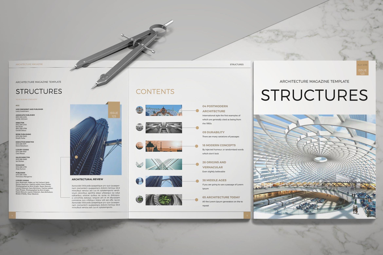 Architecture Magazine By LeoneDanieli On Envato Elements
