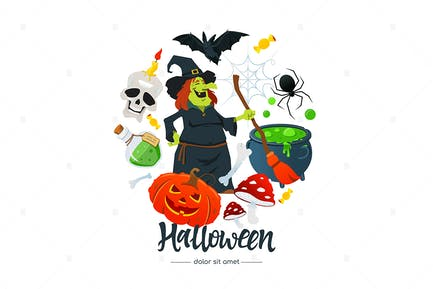 Halloween - Colorful Poster