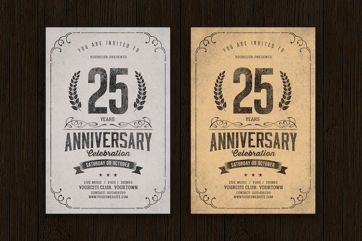 Thumbnail for Célébration anniversaire vintage
