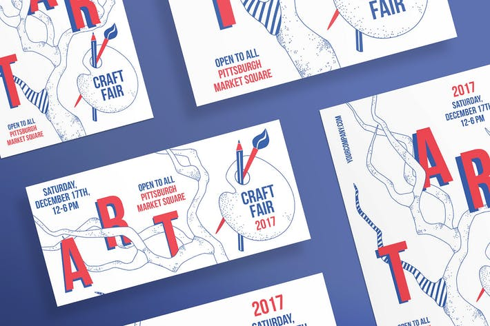 Thumbnail for Craft Fair Flyer Template