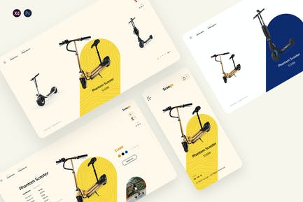 Scoogo - Scooter store ecommerce template