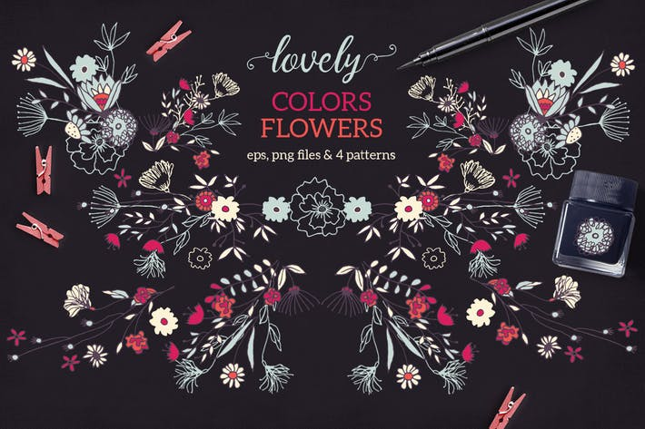 Thumbnail for Lovely Colors Flowers