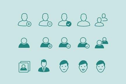 15 User Profile Icons