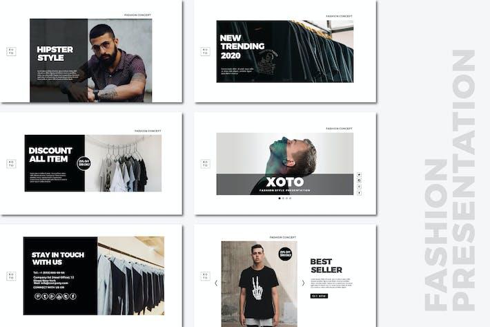 Thumbnail for Xoto Fashion Powerpoint Templates