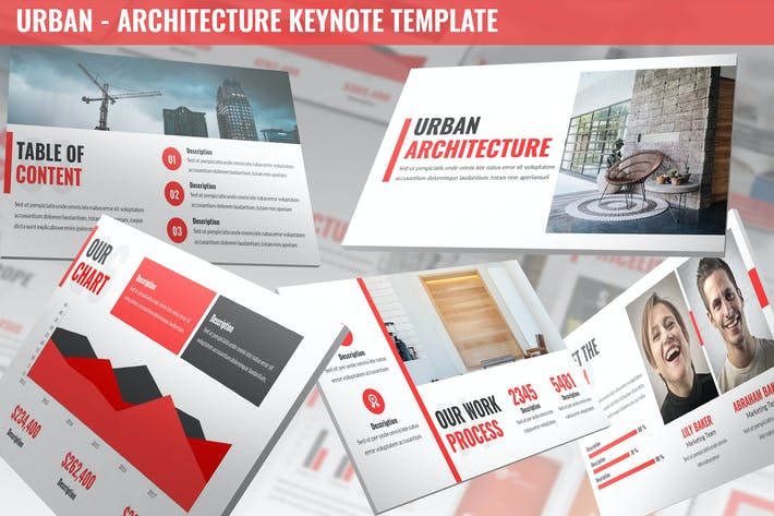 Thumbnail for Urban - Architecture Keynote Template