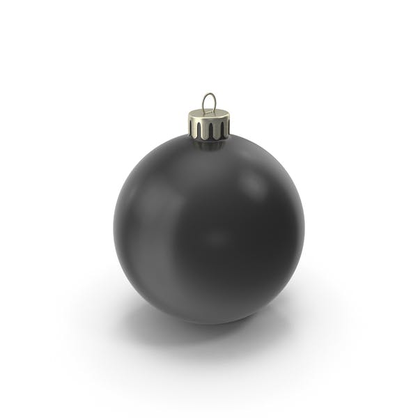 Cover Image for Christmas Ornament Black