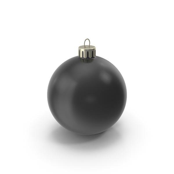 Thumbnail for Christmas Ornament Black