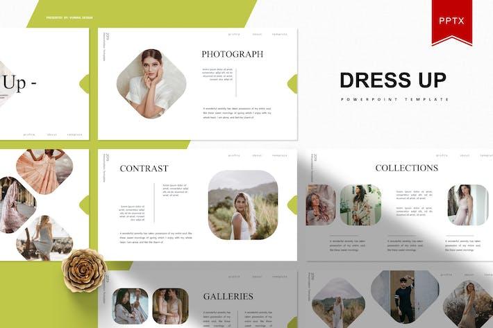 Dress Up | Powerpoint Template