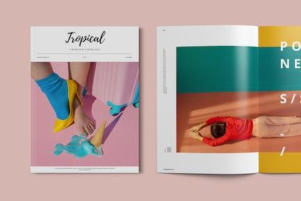 Fashion Catalog / Lookbook Brochure Template