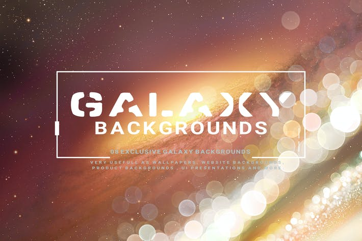 Thumbnail for Galaxy Backgrounds V2
