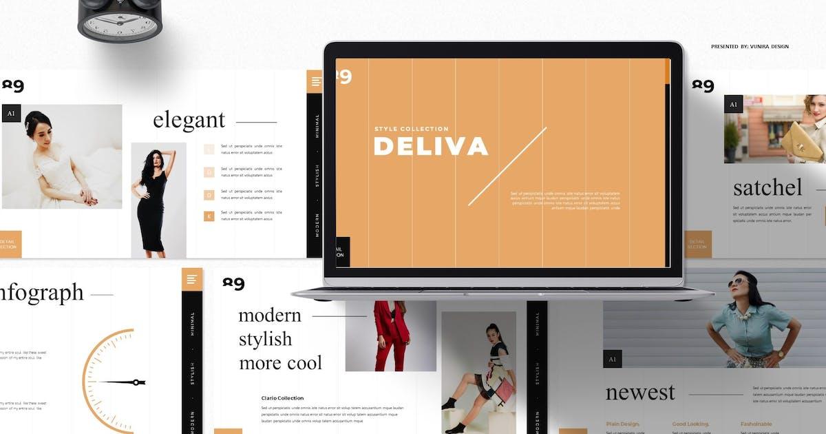 Download Deliva | Google Slides Template by Vunira