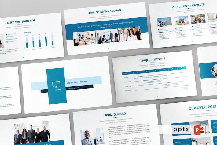 Thumbnail for GLOBAL - Multipurpose Powerpoint Template  V87