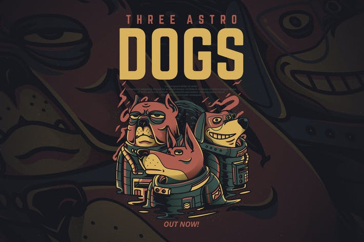 Thumbnail for Three Astro Dogs