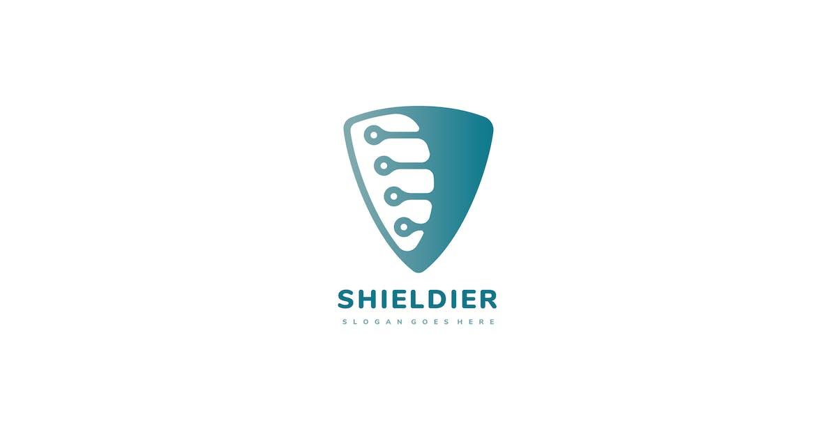 Download Technology Shield Logo by 3ab2ou