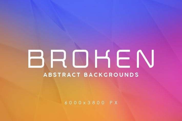 Thumbnail for Broken Abstract Backgrounds