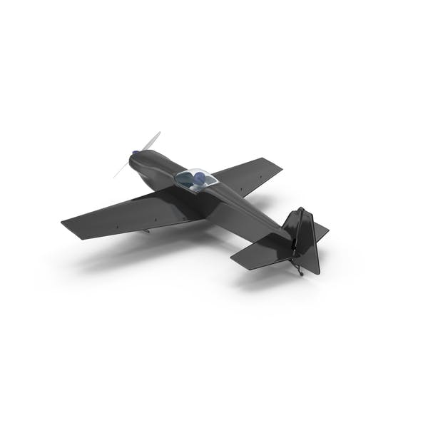 Thumbnail for Black Toy Sport Plane