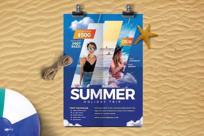 Thumbnail for Summer Travel Flyer