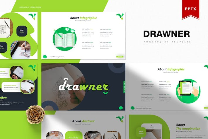 Thumbnail for Drawner | Powerpoint Template