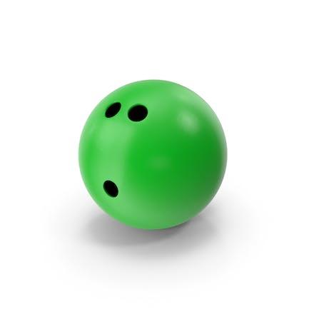 Bola de Bowling Verde