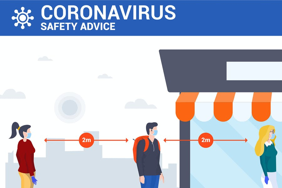 Social distancing and coronavirus  prevention