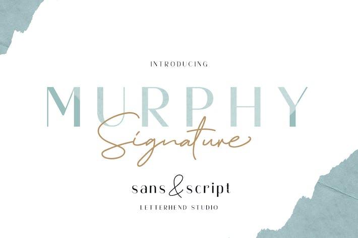 Thumbnail for Murphy - Script & Sans