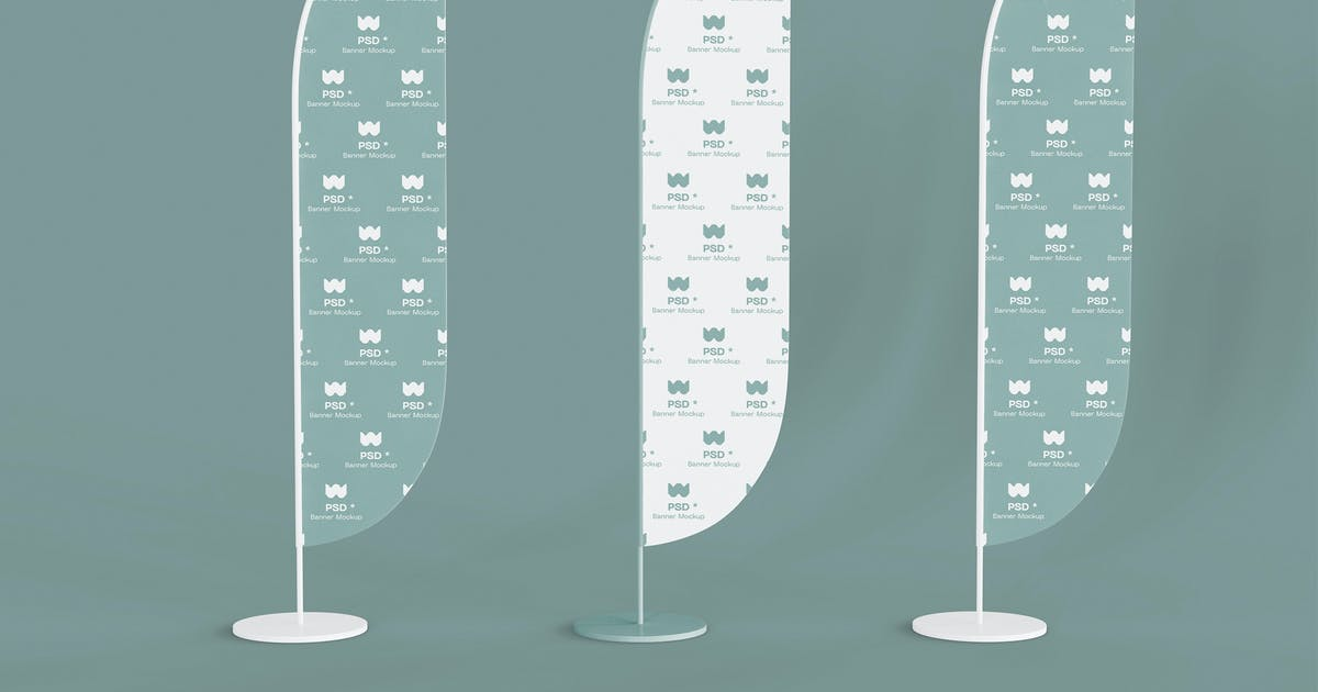 Three Banner Mockup by megostudio