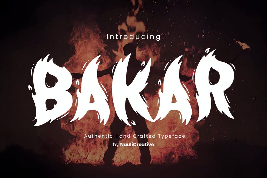 Bakar - Fuente llameante única