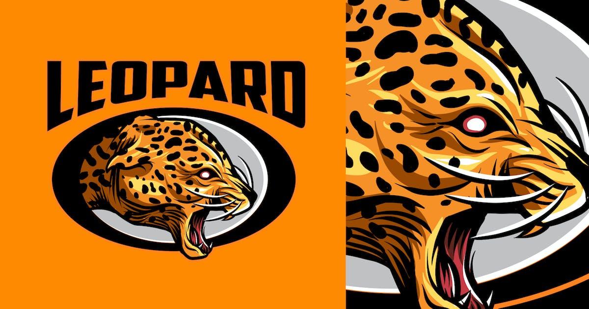 Leopard Mascot Sports and Esports Logo 2.0 by Suhandi