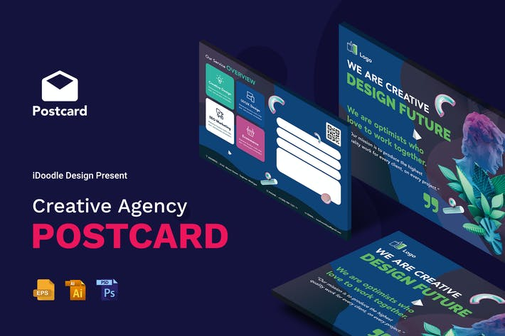 Thumbnail for Creative Agency PostCard