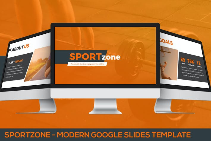 Thumbnail for Sportzone - Modern Google Slides Template