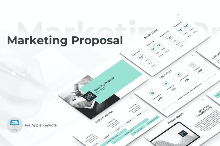 Thumbnail for Marketing Proposal Keynote Template