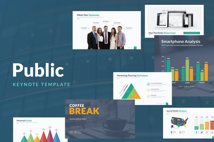 Thumbnail for Public Keynote Template