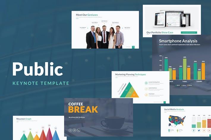 Public Keynote Template