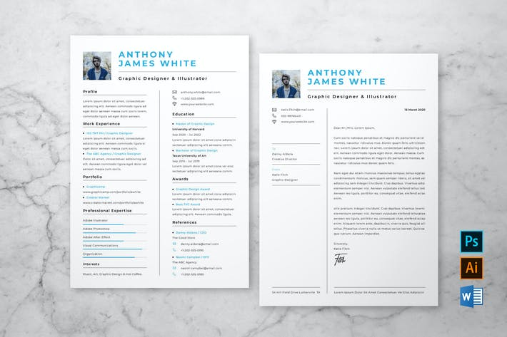 Cover Image For Clean Resume