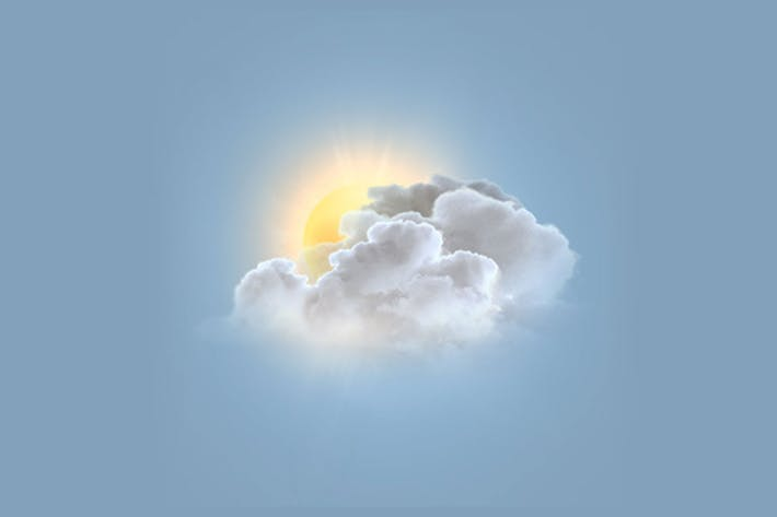 Thumbnail for Photo Realistic Weather Icon Set