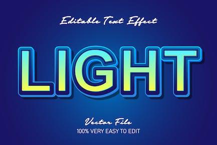 Light blue 3d text effect