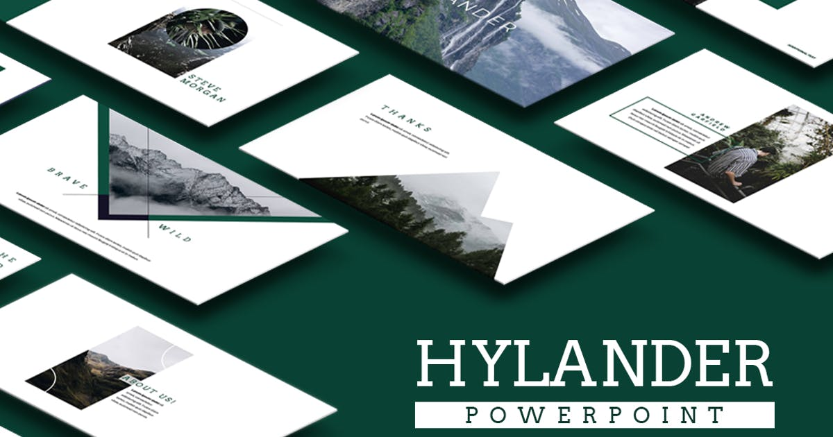 Download Hylander Powerpoint by VisualColony
