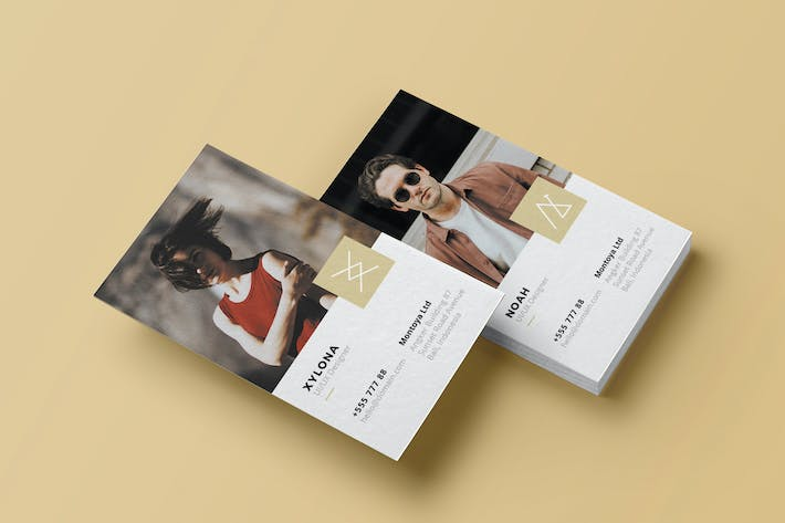 Cover Image For Creative Agency Business Card
