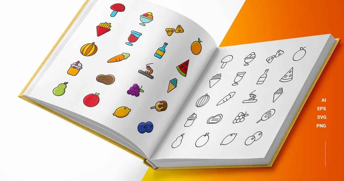 Download Summer Food - Icons by esensifiksi