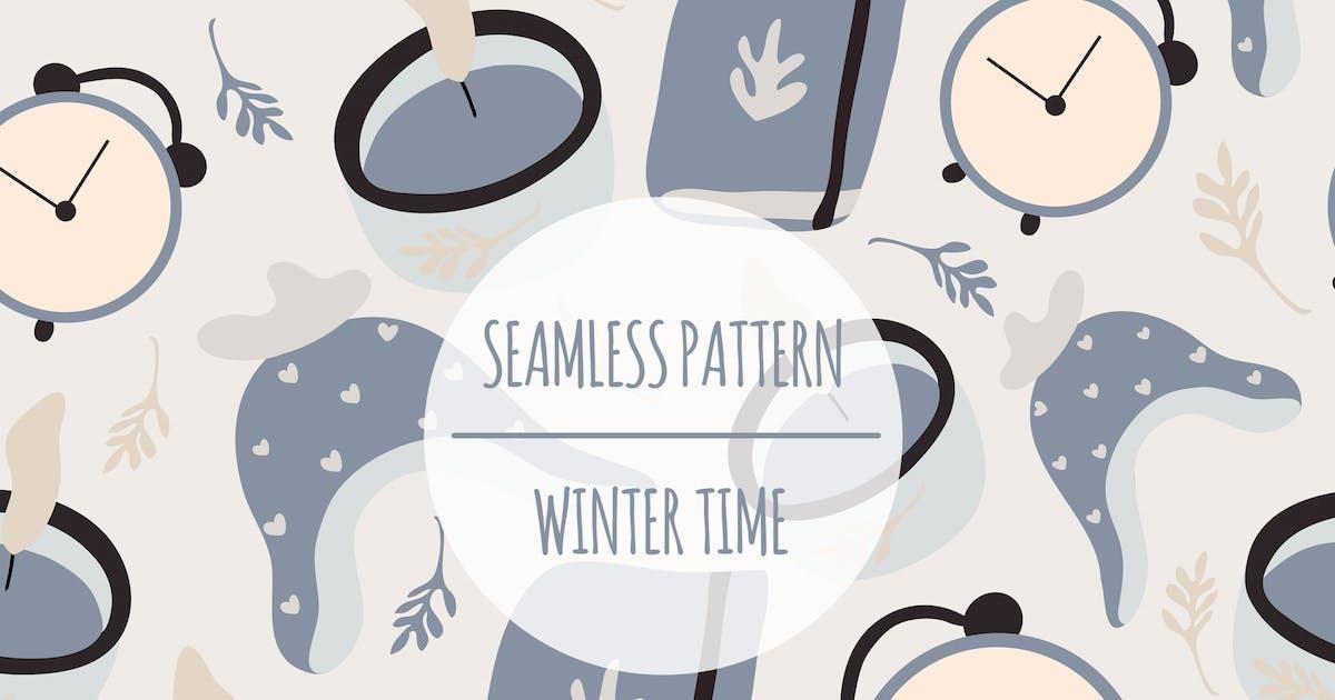 Download Winter Time – Seamless Pattern by designesto