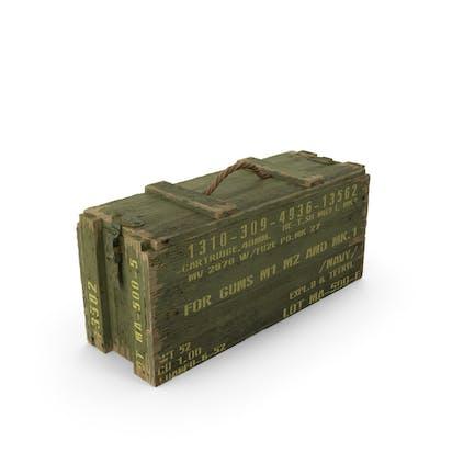 Caja de munición verde