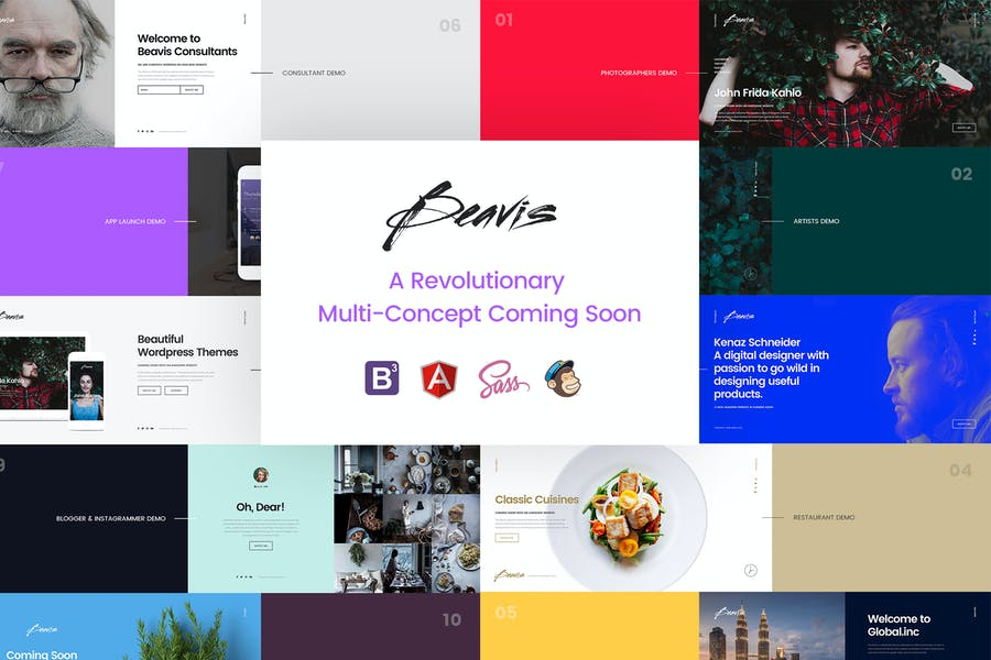 Beavis - HTML5 Coming Soon Template