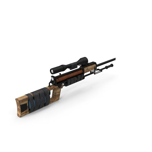 Post Apocalyptic PCP Rifle