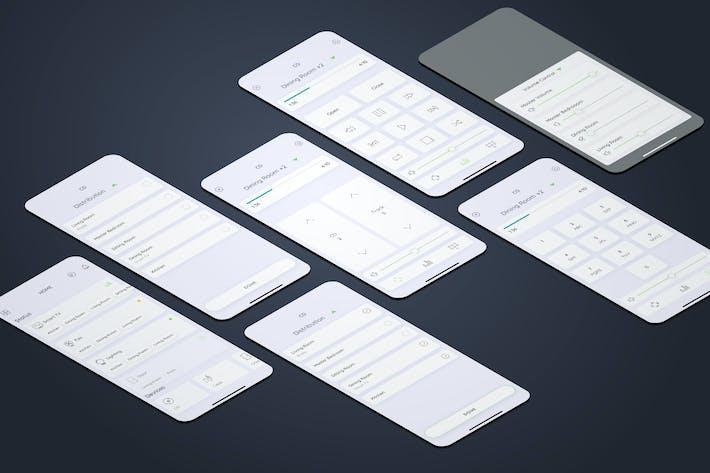 Thumbnail for CD - Smarthome Mobile UI - FP