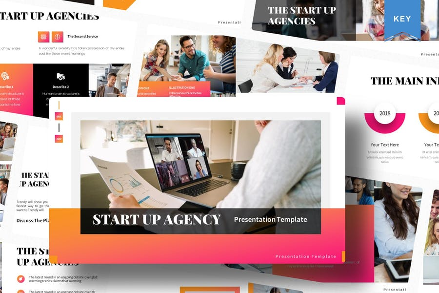Start Up Agency   Keynote Template