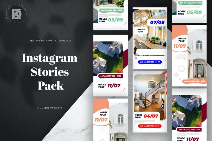 Thumbnail for Real Estate Instagram Stories Pack